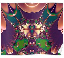 FRACTAL # 3 ~ ABSTRACT ~ COLORFUL Poster