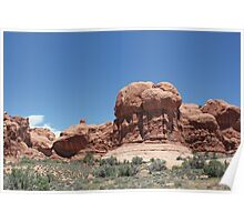 Rock Formations 5 Arches National Park Poster