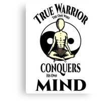 Conquer Your Mind Canvas Print