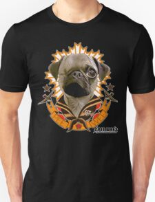 PEE WEE THE PUG TATTOO Unisex T-Shirt
