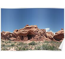 Rock Formations 6 Arches National Park Poster