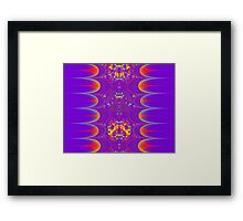 FRACTAL # 4 ~ ABSTRACT ~ COLORFUL Framed Print
