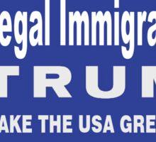 Legal Immigrants for Trump Sticker