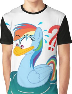 Rainbow Dash Duck My Little Pony Graphic T-Shirt