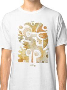 Aztek Adler und Taube Classic T-Shirt