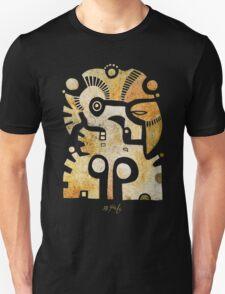 Aztek Adler und Taube Unisex T-Shirt