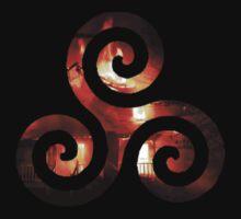 Derek's Triskelion - Hale Fire by danniiliz