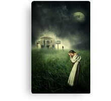Tell It To The Moon... Canvas Print