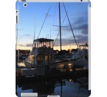 Fishing Boats ~ Waterfront Evening  iPad Case/Skin