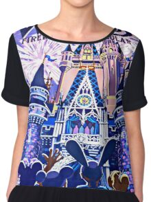 Wishes! Poster Chiffon Top