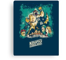 The Koopas Strike Back Canvas Print