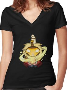 League of Legends - Chibi Bard Women's Fitted V-Neck T-Shirt