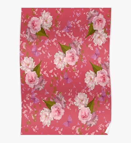 Floral Blossoms Poster