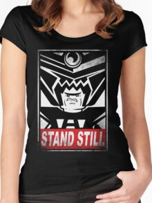 STAND STILL Women's Fitted Scoop T-Shirt