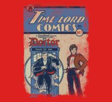 Time Lord Comics Baby Tee