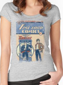 Time Lord Comics Women's Fitted Scoop T-Shirt