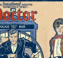 Time Lord Comics Sticker