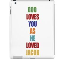 LOST - God Loves You As He Loved Jacob iPad Case/Skin