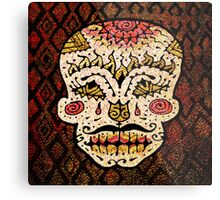 'Sweet Sugar Skull #2' Metal Print
