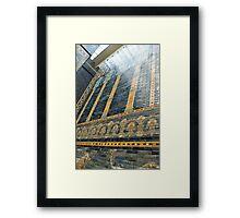 Ishtar gate wall Framed Print