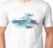 Star Sharks and Rays Unisex T-Shirt