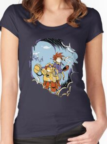 Chrono Time Women's Fitted Scoop T-Shirt