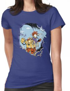 Chrono Time Womens Fitted T-Shirt