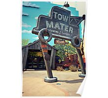 Tow Mater Towing & Salvage Poster