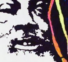 Funk you - mug shot stencil Sticker