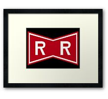 Red Ribbon Army Logo Framed Print