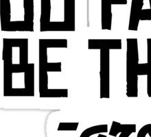 Floor Ground Funny Sarcastic Quote Text Sticker