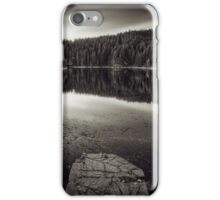 A calm evening at the lake iPhone Case/Skin