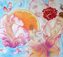 Flowers & Women • Erika Tirado by Erika .