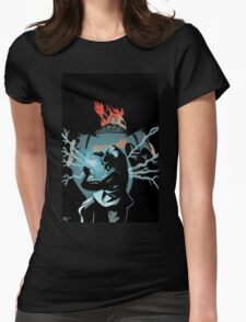 The World Warrior Womens Fitted T-Shirt