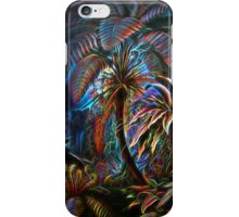 Plants & Animals, palm, tree, beach, ferns, psychedelic, art, illustration, haeckel,  iPhone Case/Skin