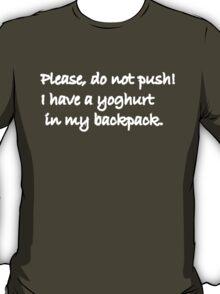 Please do not Push T-Shirt