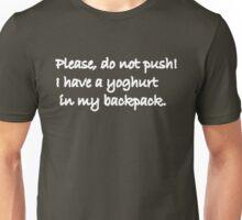 Please do not Push Unisex T-Shirt