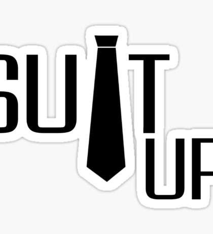 Suit Up Barney Stinson Quote How I Met Your Mother Sticker