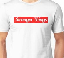 stranger things supreme logo Unisex T-Shirt