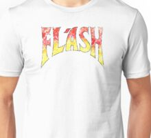 Flash Gordon – Distressed  Red/Yellow Logo Unisex T-Shirt