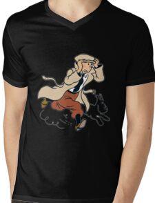 tinsnow Mens V-Neck T-Shirt