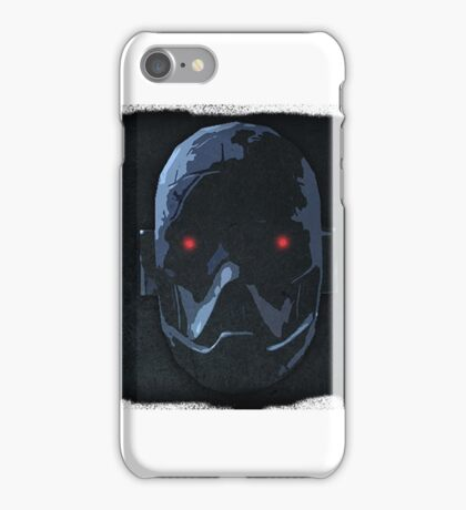 Ominous Face Design iPhone Case/Skin