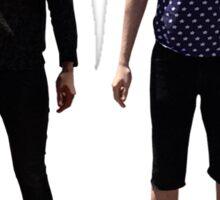 Dan and Phil Go Outside (cover picture) Sticker