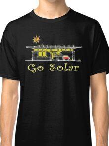 Go Solar Power Green Planet Classic T-Shirt