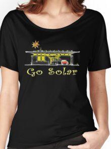 Go Solar Power Green Planet Women's Relaxed Fit T-Shirt