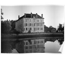 Canal du bourgogne Poster