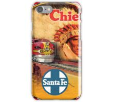 Sante Fe Railroad Big Chief iPhone Case/Skin