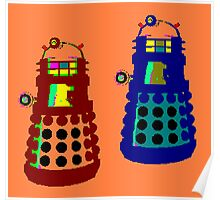 PIXELATE EXTERMINATE 1 Poster