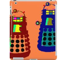 PIXELATE EXTERMINATE 1 iPad Case/Skin