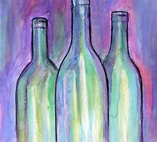 Bring The Wine by Roz Abellera Art Gallery